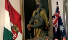 Nappaliba található Árpád fejedelem festménye