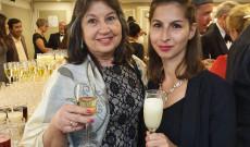 Kovács Mária a paraguayi egyesület elnöke és Katona Petronella KCSP ösztöndíjas