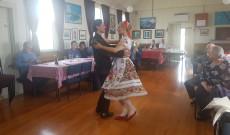 Dóri és Marci táncbemutatója