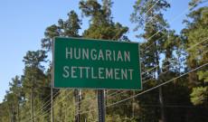 Hungarian Settlement tábla