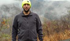 Én a Smoky Mountain előtt