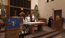 A gyermekek műsora a karácsonyi istentiszteleten