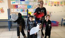 Jelmezes ünnepség a magyar iskolában