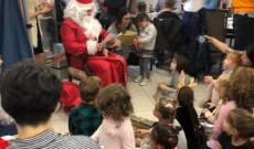 Mikulás és Hanuka ünnepség a Tel Aviv-i Magyar Nagykövetségen
