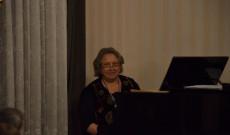 Ott Éva zongoraművész, a Nemzetközi Bartók Béla Társaság alapítója