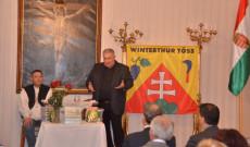 Verebes Csaba, svájci magyar mutatja be a könyvet