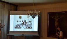 Feszty Masa budavári otthonában