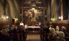 Varga János rektor a prédikációban Mindszenty József hercegprímásra is emlékezett