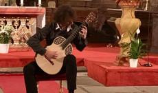 Timotej Zavacký gitárkoncertje Prágában a Szent Henrik templomban 2019.09.06.