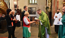 Ünnepi szentmise 2019.okt.20. Prága 3.