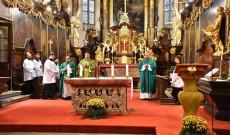 Ünnepi szentmise 2019.okt.20. Prága 2.