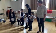 A Southendi Magyar Iskola tanulóinak előadása
