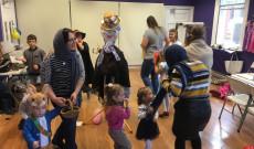 Kiszebaba siratás a Szóló Szőlő Chesteri Magyar Tanodában