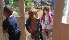 Első órák a manchesteri Zsigmond Király Magyar Iskolában