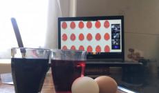 Online tojásfestés