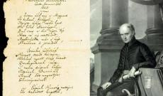 A Himnusz szövege - első rész / Kölcsey portréja