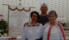 Viski Enikő, Károly István és Szabó Erzsébet - a spontán megemlékezés résztvevői