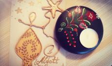 Karácsonyi Üdvözlőkátya- Gyerekfoglalkozáson készült