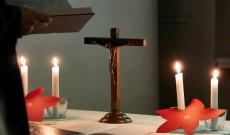 Adventi istentisztelet Drezdában