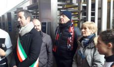 Az olasz és magyar megemlékezők