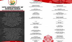 A jubileumi gála programja