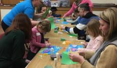 Kézműves foglalkozás a Magyar Iskola Wokingban