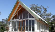 Újonnan épült templomunk