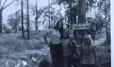 Régi fotókról köszön vissza az Ibolya őrs