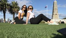 KCSP ösztöndíjasok Perthben