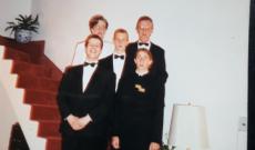 Cserkészbál, 1994. Redl Isabel, Valentin Ferenc, ifj. Valentin Ferenc, Major Balazs, Valentin János
