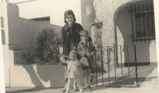 Marika a gyerekekkel, 1967.