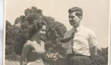 Marika és férje, Benedek László, 1958.