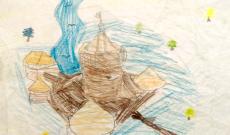 Mallát Csilla, 8 éves — Tokaji vár