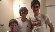Kasza Lucas, Tomas és Nicolás