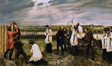 Aradi vértanúk, október hatodika (Thorma János festménye, 1896) Forrás: Wikipedia