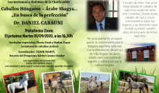 Dr. Daniel Carauni arab telivérekről szóló előadásának meghívója