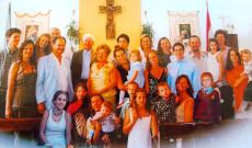 Fóthy Gyula családja körében (Buenos Aires)