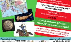 A magyar államalapítás előzményeiről tartott előadás meghívója