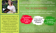 Vic Echegoyen 2020. augusztus 4-i előadásának meghívója