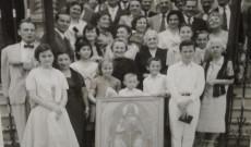Ünnepség az 1950es években