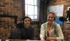 A magyar rádió stúdiójában