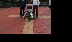 Tóth István, a Christchurchi Magyar Klub alelnöke és Kemény Zalán KCSP ösztöndíjas