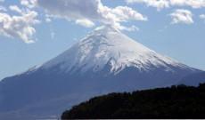 Vulkán Chile déli részén