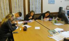Tizenéves nyelvtanulók