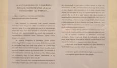 Ausztriai református és evangélikus egyházak vezetőinek 1956. november 17-én, a magyar menekültekhez íródott levél