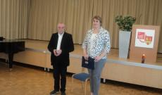 Kulman Sándor és Csibi Krisztina a Gulág-kiállítás felsőpulyai megnyitóján