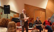 Lengyel Ferenc költő, a Bécsi Magyar Iskola tanára, a VERS-SORBAN kezdeményezője