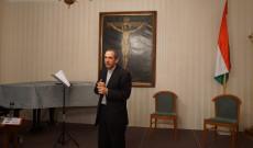 Varga János atya, a bécsi Pázmáneum rektora