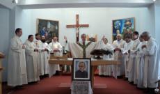 Nagy-György Attila, az ausztriai magyar és magyarul beszélő papok 2017. évi kismartoni találkozóján, a kőszegi szentmise főcelebránsaként