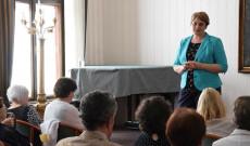 Csibi Krisztina, a Magyarság Háza igazgatója a Petőfi- és a Kőrösi-programokról szólt röviden